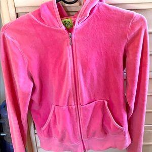 Pink velour Juicy jacket